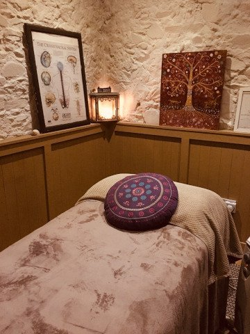 Treatment Room in The Willow Rooms Skerries