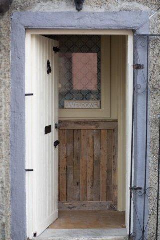 Front Door of The Willow Rooms Skerries